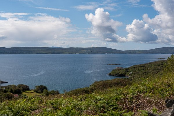 Landschaft der Beata Halbinsel Irland