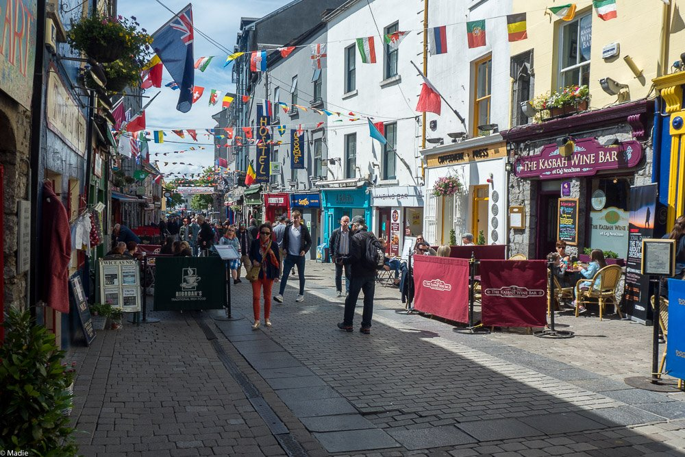 Stadtimpressionen Galway Irland