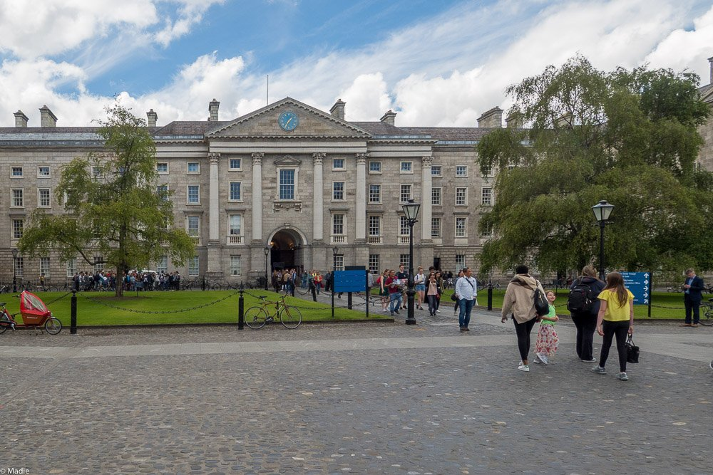 Campus des Trinity-College in Dublin