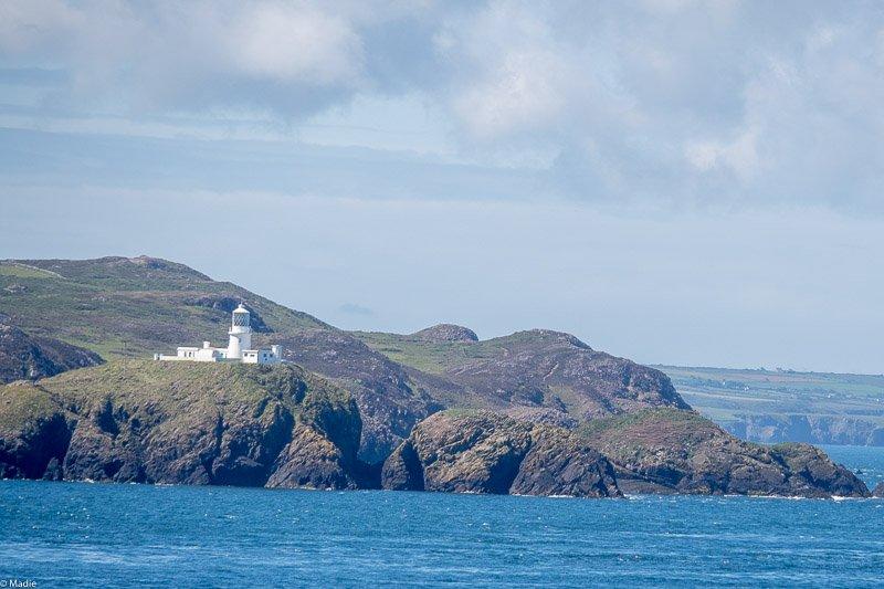 Küste von Wales bei Fishguard