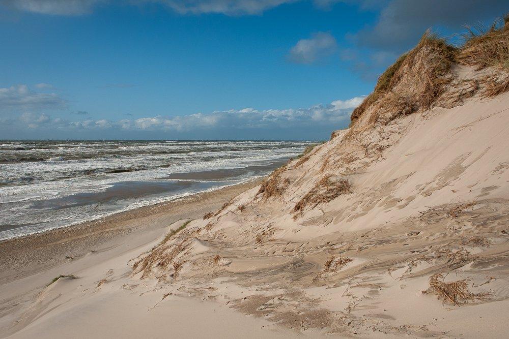 Hvide Sande bei Sturm