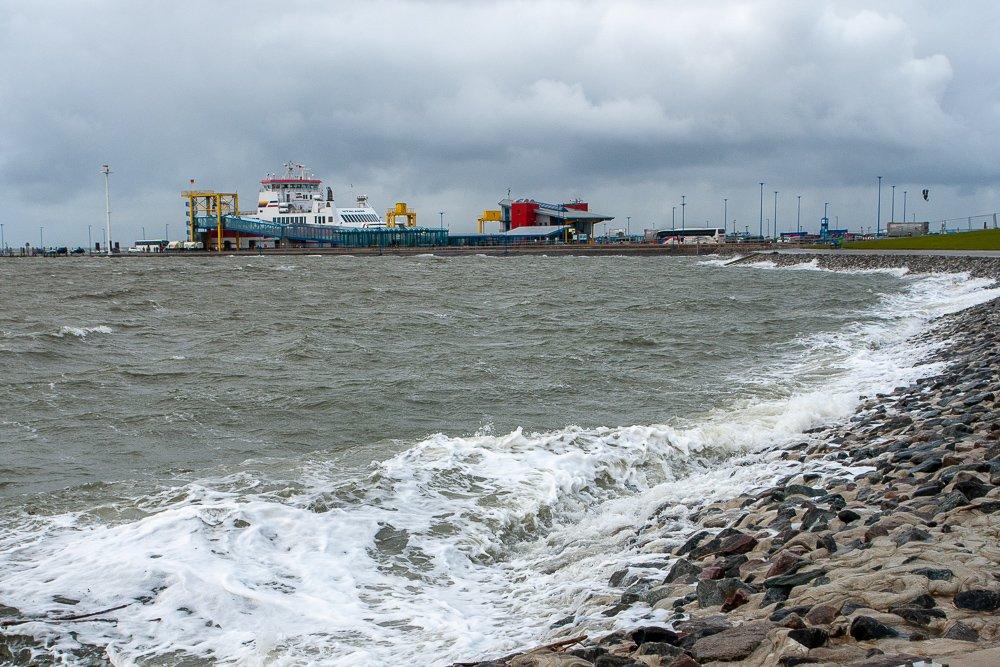 Sturm in Dagebüll