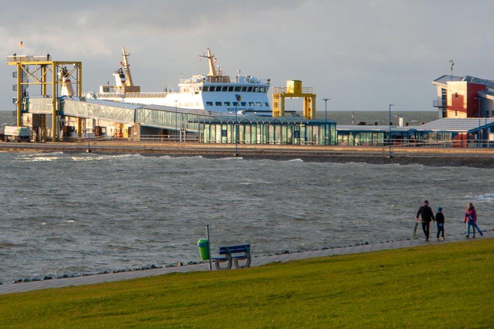 Dagebüll Fährhafen