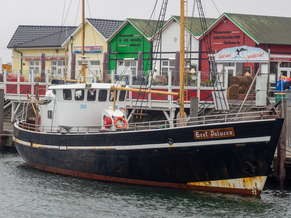 List auf Sylt, am Hafen