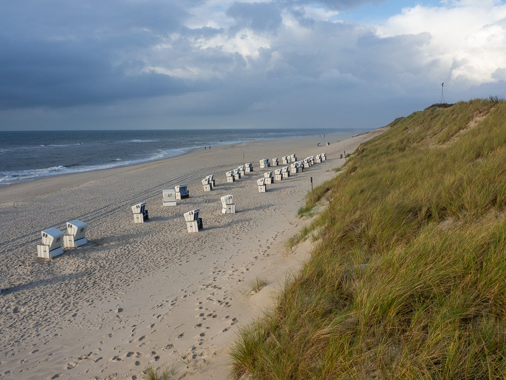 Sylt Strandimpressionen im Herbst