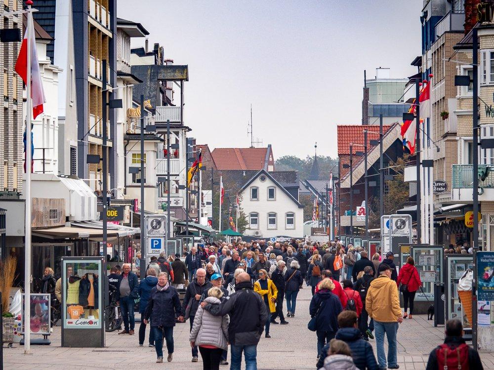 Westerland, Einkaufsstraße