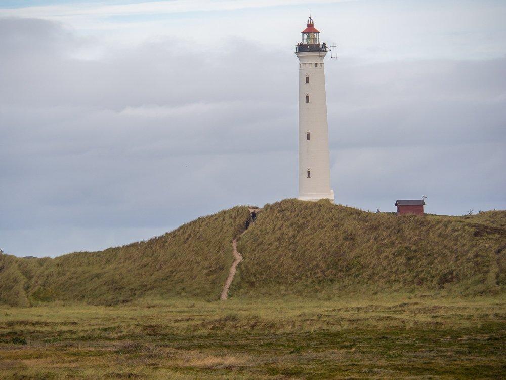 Nørre Lyngvig Fyr, der Leuchtturm