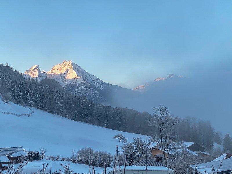 Panorama am Morgen Berchtesgaden