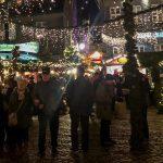 Goslar, ein Weihnachtsmarkt im Wald