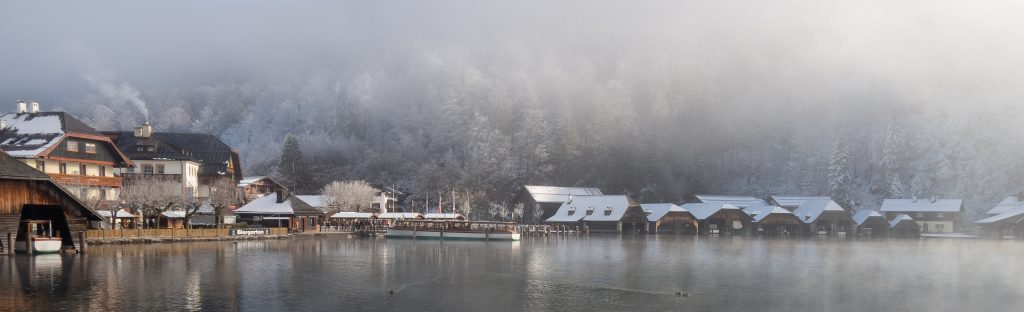Nebel am Königssee