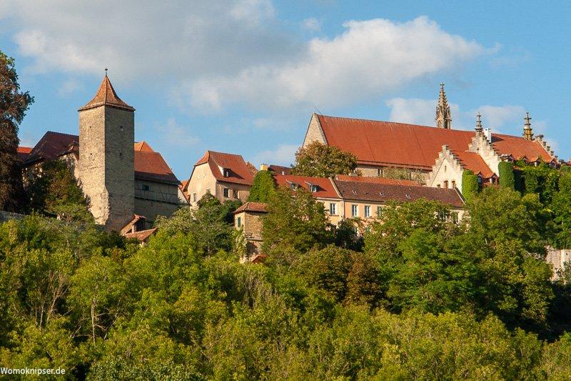 Rothenburg ob der Tauber im Taubertal