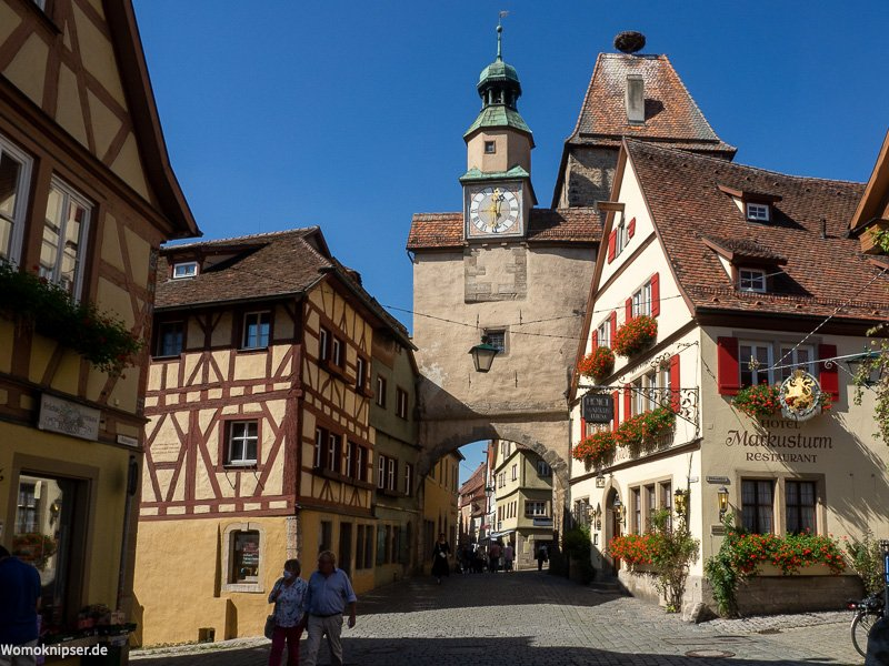 Rothenburg ob der Tauber Stadtbilder