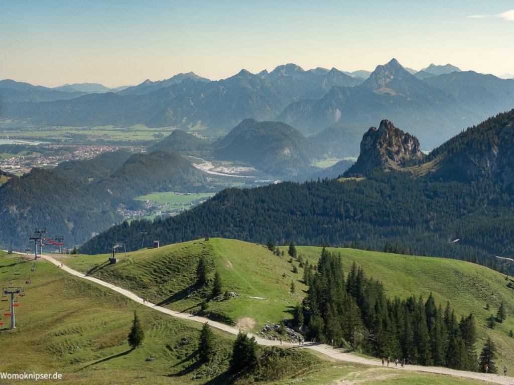 Pfronten Allgäu Breitenberg Aussicht