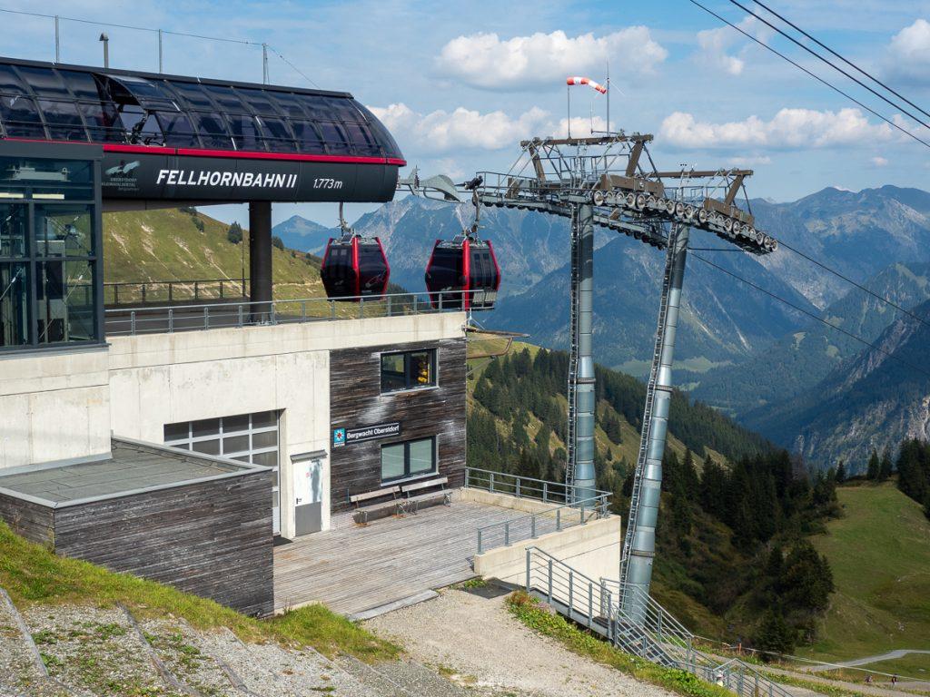 Oberstdorf Fellhornbahn Bergstation