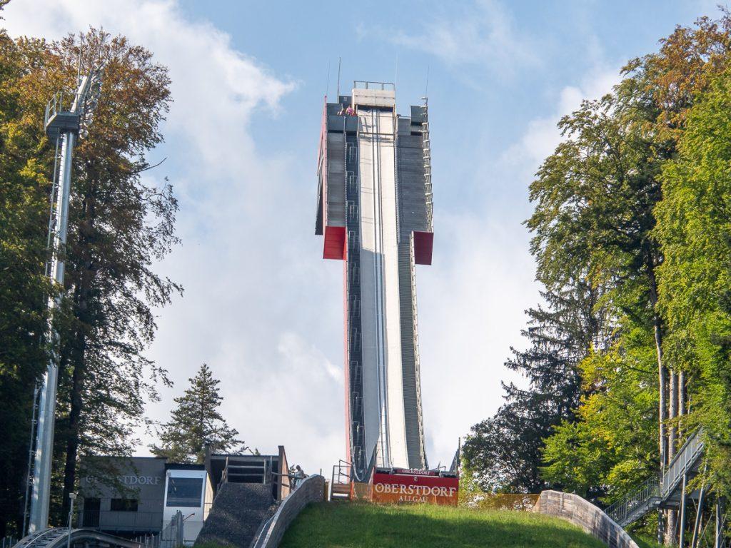 Oberstdorf Skiflugschanze Anlaufturm