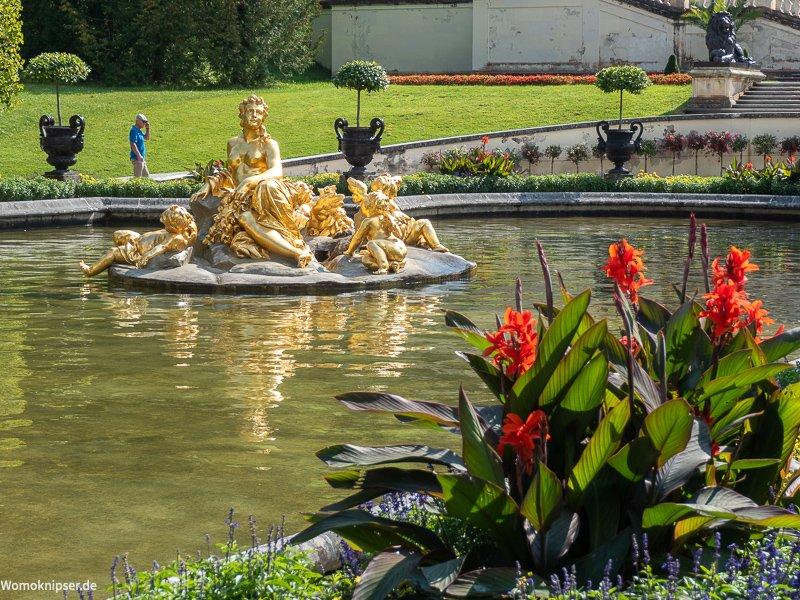 Schloss Linderhof Springbrunnenfiguren