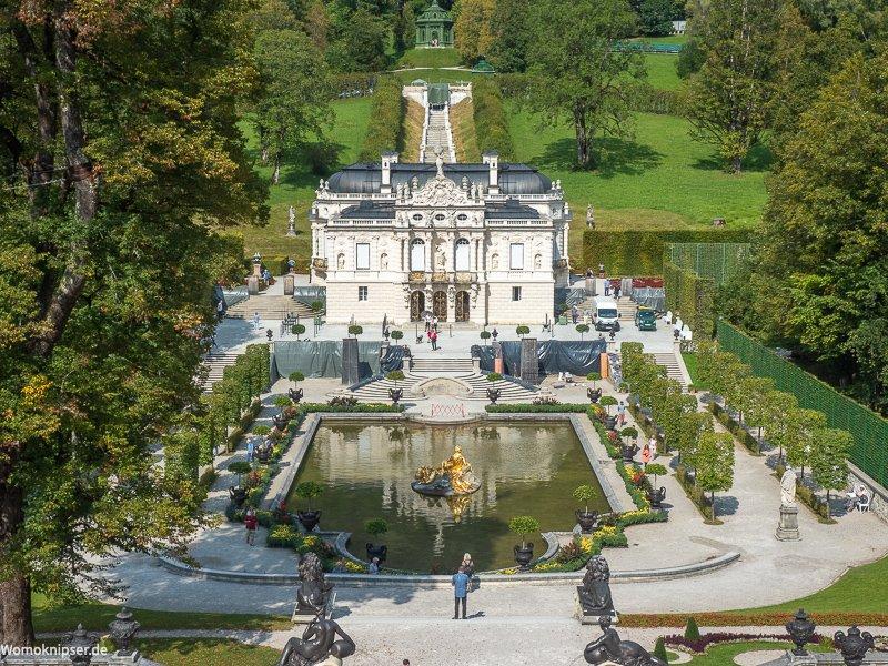 Schloss Linderhof Gesamtansicht