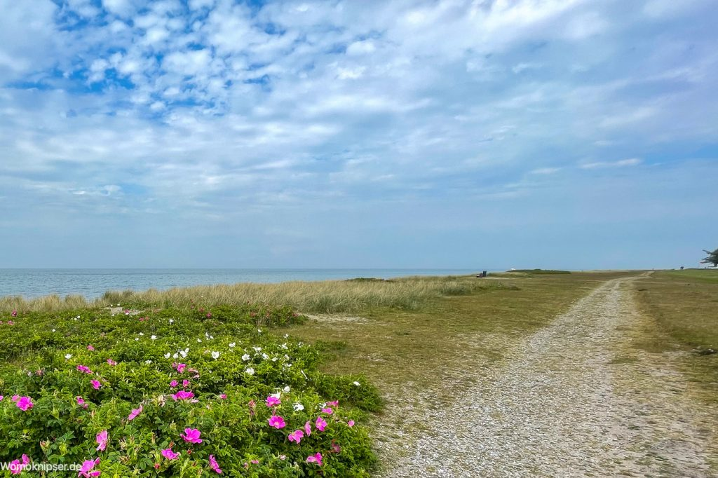 Fehmarn, Strand am Niobe Denkmal