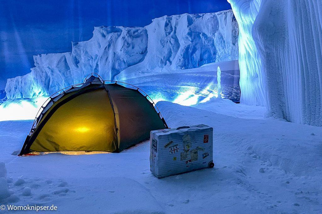 polare Kälte im Klimahaus