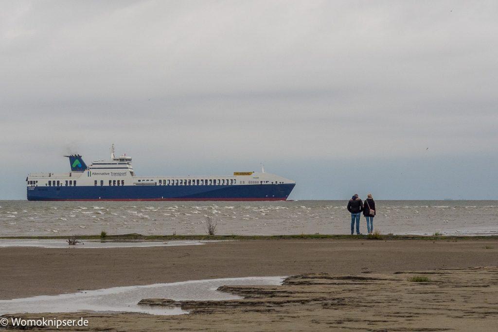 Cuxhaven an der Kugelbake