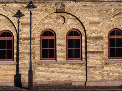 Gebäude am alten Hafen Göteborg