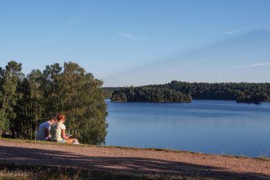 Göteborg See am Abend