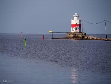 Leuchtturm Lidköping am Vänernsee