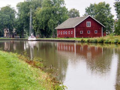 Gewitter in Hajstorp amm Götakanal