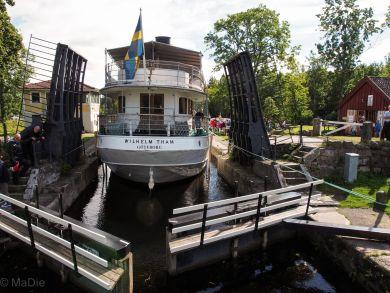 Wilhelm Tham Götakanal bei Forsvik