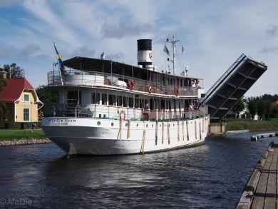 Wilhelm Tham Götakanal bei Karlsborg