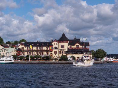 Vaxholm, das Hotel