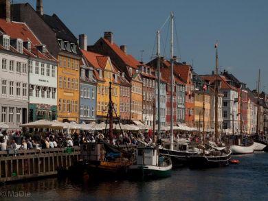 Stadtbummel in Kopenhagen