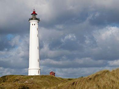 Hvide Sande Strand und Leuchtturm