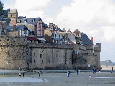 Befestigungsmauer Mont St Michel