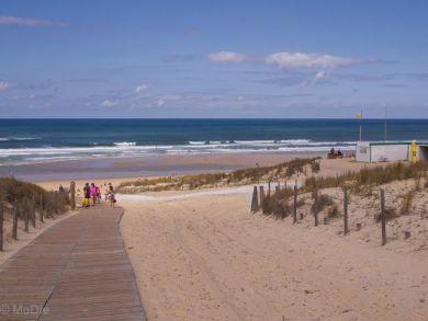 Strand an der Bucht von Arcachon