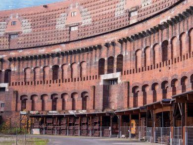 Innenhof der Kongresshalle Nürnberg