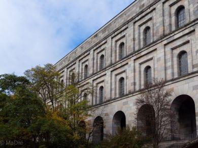 Die Kongresshalle für den Reichsparteitag, Details