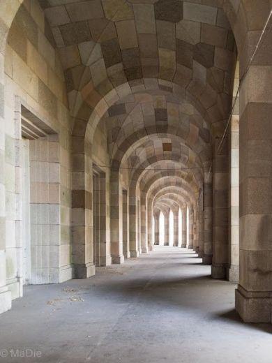 Äußerer Umgang Kongresshalle Nürnberg
