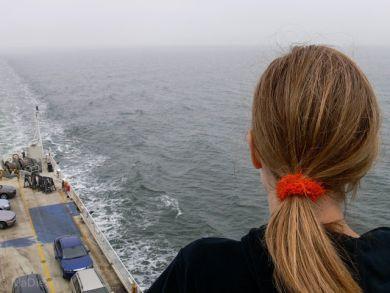 Überfahrt nach Bornholm