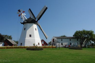 Windmühle auf Bornholm