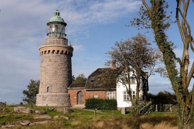Am Leuchtturm von Sandvik