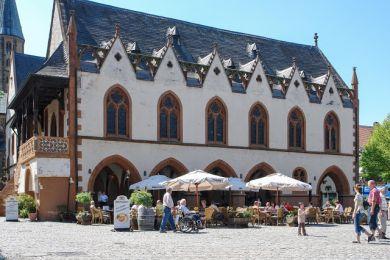 Goslar das Rathaus