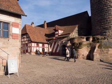Nürnberg Burg Nebengebäude