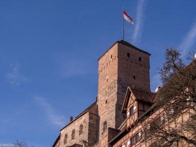 Unterhalb der Burg