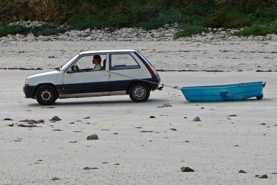 Bootstransport auf die moderne Art