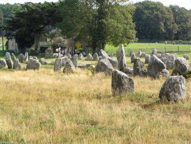 Hinkelsteine in der Bretagne