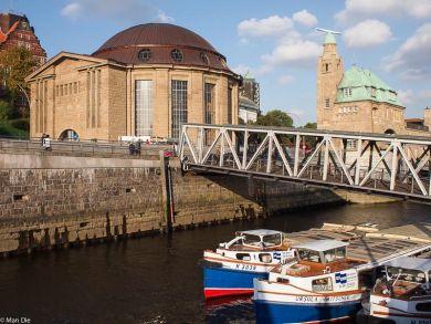 Hamburg alter Elbtunnel