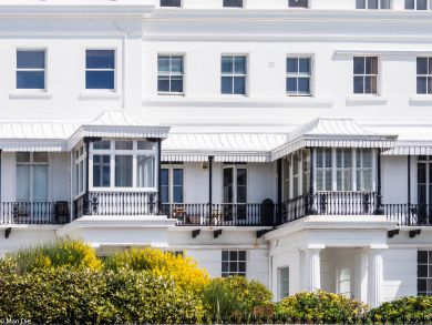 Brighton, Häuser an der Seaside