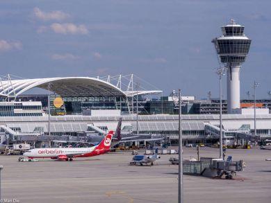 Beobachtungsberg Flughafen München