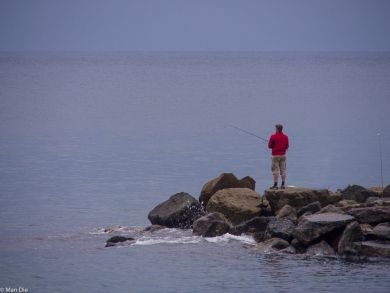 Angler in Levanto